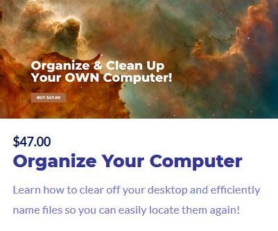 Organize Your Computer Training